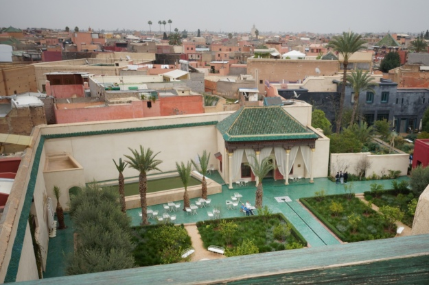 Le jardin secret marrakech duver diary for Le jardin secret chicha